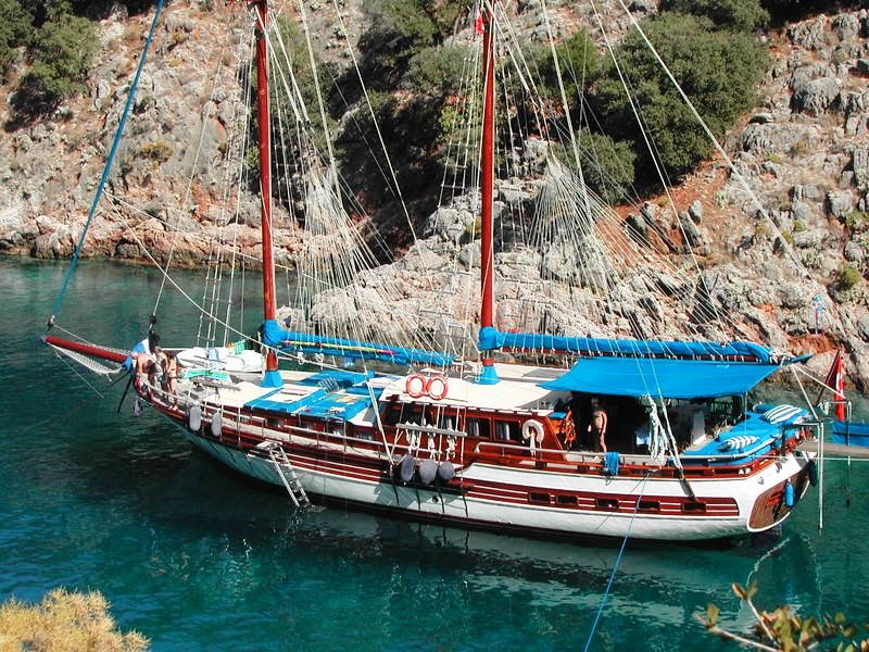 Gulet P.Funda boat cruises in Turkey