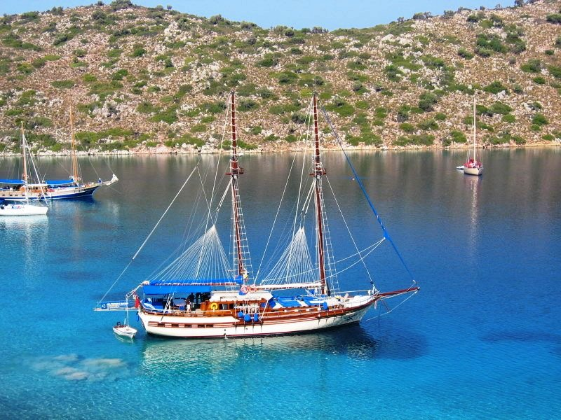 Gulet P.Funda blue voyage in Turkey