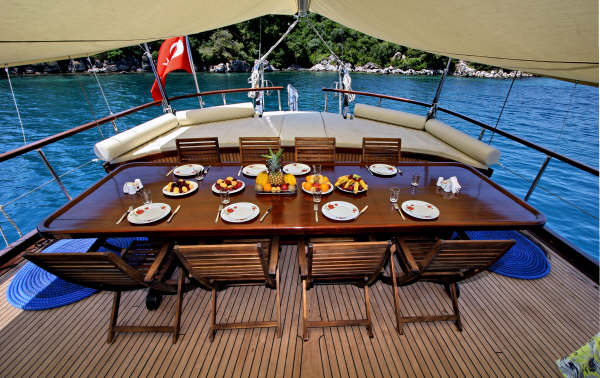 Gulet boat cruises in Turkey