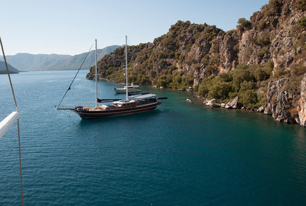 Gulet blue voyage in Turkey