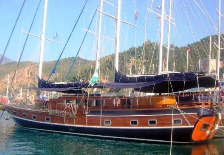 Gulet K.Sezen boat cruises in Turkey