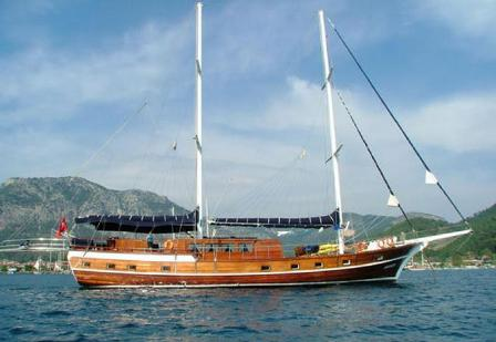 Gulet K.Sezen blue voyage in Turkey